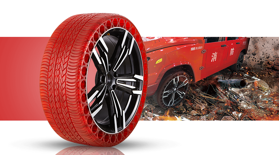 Fire engine tyre